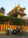 Colorful temple in Berhampur, India