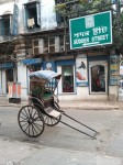 Rickshaw on Sudder Street, Kolkata, India