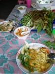 Delicious lunch in Prachuap Kirikan, Thailand