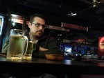 Dan in a bar in Anyang