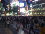 Tokyo: la grosse intersection de Shibuya