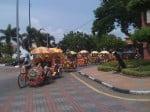 Melaka: transport de touristes!